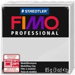 FIMO® Professional Clay - Dolphin Grey #80 - 2 oz block