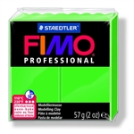 FIMO® Professional Clay - Sap Green #5 - 2 oz block
