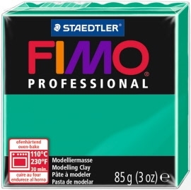 FIMO® Professional Clay - True Green #500 - 2 oz block