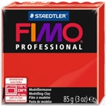 FIMO® Professional Clay - True Red #200 - 2 oz block