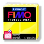 FIMO® Professional Clay - True Yellow #100 - 2 oz block