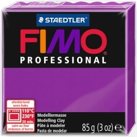 FIMO® Professional Clay - Violet #61 - 2 oz block