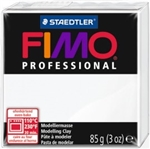 FIMO® Professional Clay - White #0 - 2 oz block