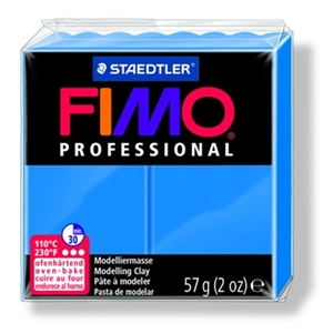 FIMO® Professional Clay - True Blue #300 - 2 oz block