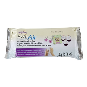 Polyform Model Air Modeling Clay - White - 2.2lb Block