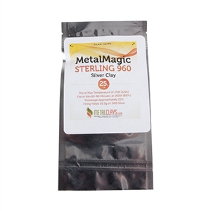 Metal Magic - Sterling 960 - 25 gram - Metal Clay