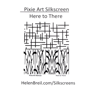 Pixie Art Silk Screen - Here to There
