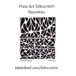 Pixie Art Silk Screen - Nouveau
