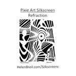 Pixie Art Silk Screen - Refraction