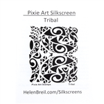 Pixie Art Silk Screen - Tribal