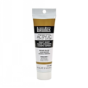 Liquitex Acrylic Paint - Bronze Yellow