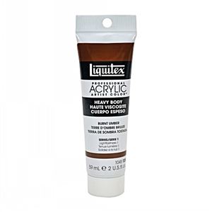 Liquitex Acrylic Paint - Burnt Umber