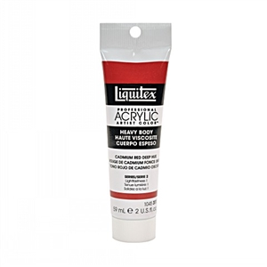 Liquitex Acrylic Paint - Cadmium Red Deep Hue