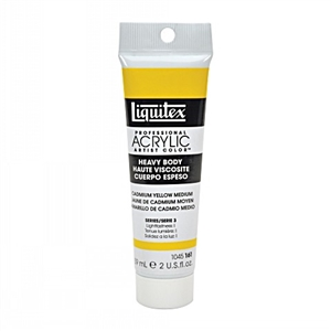 Liquitex Acrylic Paint - Cadmium Yellow Medium