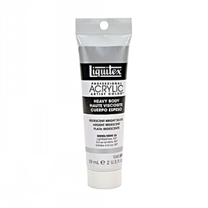 Liquitex Acrylic Paint - Iridescent Bright Silver