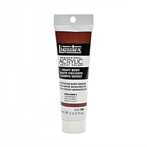 Liquitex Acrylic Paint - Quinacridone Burnt Orange