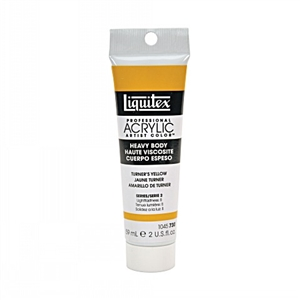 Liquitex Acrylic Paint - Turner's Yellow