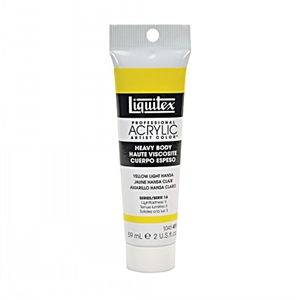 Liquitex Acrylic Paint - Yellow Light Hansa