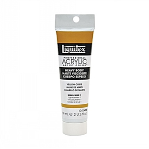 Liquitex Acrylic Paint - Yellow Oxide