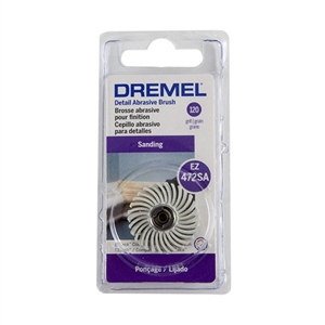 Dremel Detail Abrasive Brush - 120 grit