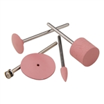 Silicone Polisher: Pink Barrel Set