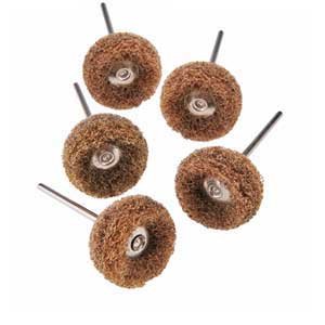 Mini Fiber Wheels - Coarse - 5 pcs