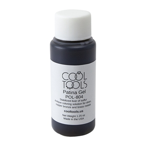 Cool Tools Patina Gel - Liver of Sulfur in Gel Form - 1.25 oz