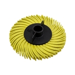 "2"" Radial Brush - 80 Grit"