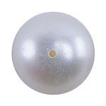 Natural Freshwater White Pearls - Drilled Round 10-11mm - Pak of 1