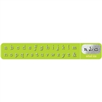 Dots Letter Stamps - Lower Case 3mm