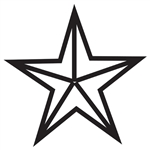 Design Stamp Jumbo - Star
