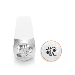 Design Stamp - Floral Swirl 6mm