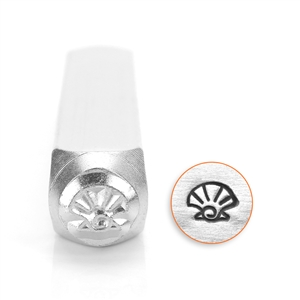 Design Stamp - Sea Shell 6mm