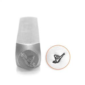 Design Stamp - Butterfly 6mm