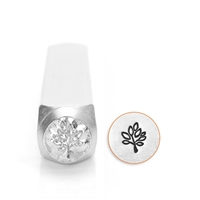 Design Stamp - Leaf Tree 6mm