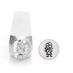 Design Stamp - Auntie 7mm