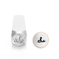 "Design Stamp - ""Sis"" Design 6mm"