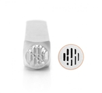 Design Stamp - Vertical Line Texture 6mm