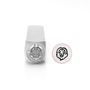 Design Stamp - Lion Head 6mm