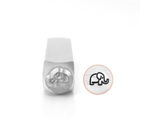 Design Stamp - Elephant - 6mm
