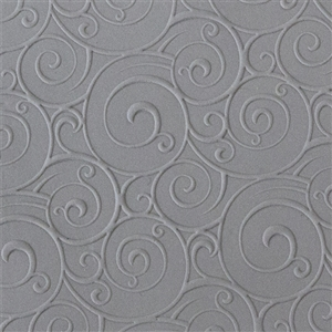 Rollable Texture Tile - Curly Spirals Fineline