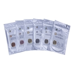Goldie Sampler 1 - Bronze Hard, Bronze Soft, Snow Bronze, de la Rosa Bronze, Roman Bronze & Copper