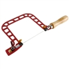Fret Hand Saw with Cam-Lever Tension and Swivel Blade Clamps - 5""