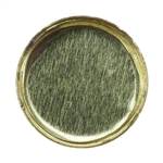 Brass Bezel Cup Round 6mm