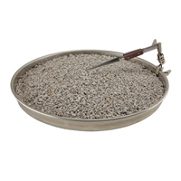 360° Rotating Soldering Pan with Pumice - 12 in