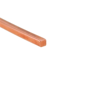 Craft Wire - Copper Square 18 gauge