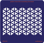 Pattern Stencil for Enameling - Formation
