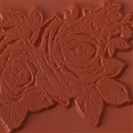Rubber Enameling Stamp - Rose Sketch