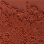 Rubber Enameling Stamp - Coral Reef
