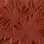 Rubber Enameling Stamp - Hibiscus